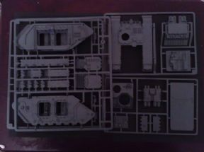 Space Marine Land Raider Chassis Sprues